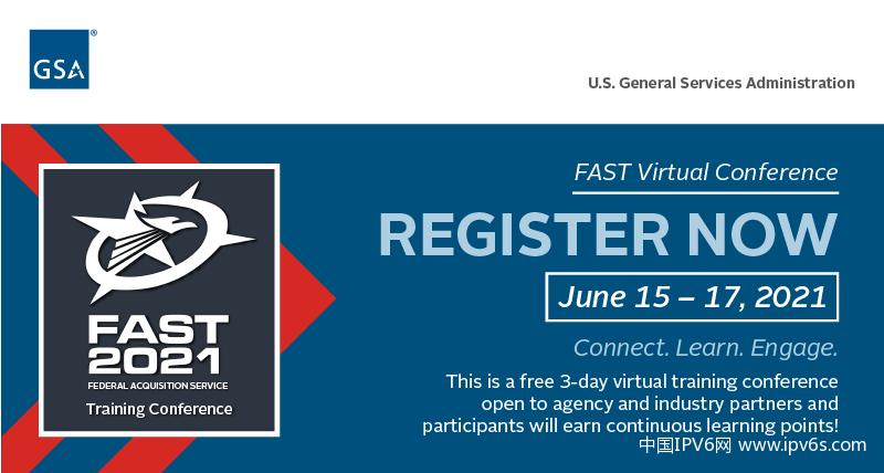 由于IPv6是零信任的关键,GSA将主办6月16日的过渡峰会